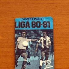 Cromos de Fútbol: SOBRE SIN ABRIR - EDICIONES ESTE - LIGA 1980-1981, 80-81- AZUL. Lote 2812312