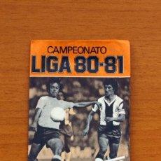 Cromos de Fútbol: SOBRE SIN ABRIR - EDICIONES ESTE - LIGA 1980-1981, 80-81 - NARANJA. Lote 2812331