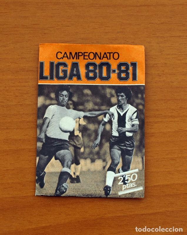 SOBRE SIN ABRIR - EDICIONES ESTE - LIGA 1980-1981, 80-81- NARANJA (Coleccionismo Deportivo - Álbumes y Cromos de Deportes - Cromos de Fútbol)