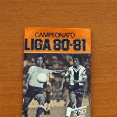 Cromos de Fútbol: SOBRE SIN ABRIR - EDICIONES ESTE - LIGA 1980-1981, 80-81- NARANJA. Lote 2812336