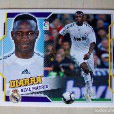 Cromos de Fútbol: 11B - DIARRA (REAL MADRID) CROMO ESTE 2010 2011 PANINI. Lote 85710436