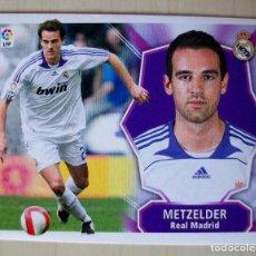 Cromos de Fútbol: METZELDER (REAL MADRID) CROMO ESTE 2008 2009 PANINI NUNCA PEGADO. Lote 85725728