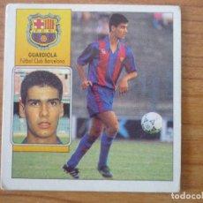 Cromos de Fútbol: CROMO ALBUM LIGA ESTE 92 93 PEP GUARDIOLA (FC BARCELONA) - NUNCA PEGADO - 1992 1993 BARÇA. Lote 85893032