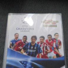 Cromos de Fútbol: ALBUM FICHERO ARCHIVADOR VACIO SIN CROMOS ADRENALYN XL CHAMPIONS LEAGUE 2010 2011 10 11 PANINI. Lote 86415044