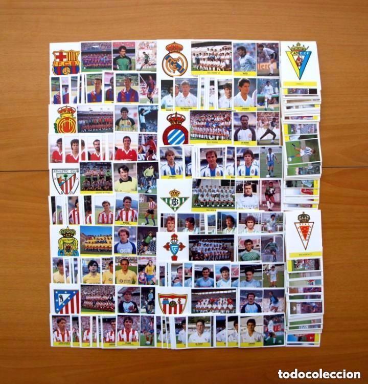 LIGA 1987-1988, 87-88 - EDICIONES FESTIVAL - 300 CROMOS NUEVOS, ES LA COLECCIÓN COMPLETA, VER FOTOS (Coleccionismo Deportivo - Álbumes y Cromos de Deportes - Cromos de Fútbol)