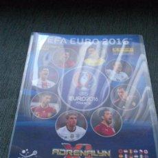 Cromos de Fútbol: ALBUM FICHERO ARCHIVADOR VACIO SIN CROMOS ADRENALYN XL UEFA EURO2016 FRANCIA EURO 2016 FRANCE PANINI. Lote 86420928