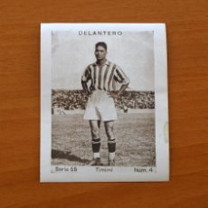 Cromos de Fútbol: BETIS - TIMIMI, SERIE 55, Nº 4 - CUPÓN PENINSULAR 1932-1933, 32-33. Lote 8209562