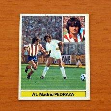 Cromos de Fútbol: ATLÉTICO MADRID - PEDRAZA - BAJA - LIGA 1981-1982, 81-82 - EDICIONES ESTE. Lote 86614572