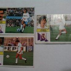 Cromos de Fútbol: CROMOS TEMPORADA 82/83 EDICIONES ESTE REAL MADRID. NUNCA PEGADOS.. Lote 86678332
