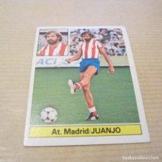 Cromos de Fútbol: CROMO FICHAJE 20 JUANJO AT. MADRID CROMOS ALBUM EDICIONES ESTE LIGA FUTBOL 1981 1982 81 82. Lote 86886708
