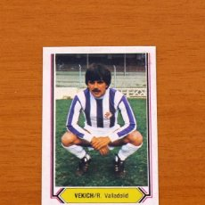 Cromos de Fútbol: VALLADOLID - VEKICH - LIGA 1980-1981, 80-81 - EDICIONES ESTE . Lote 86910748