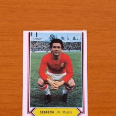Cromos de Fútbol: MURCIA - SEBASTIA - LIGA 1980-1981, 80-81 - EDICIONES ESTE . Lote 86911180