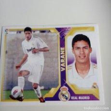Cromos de Fútbol: VARANE COLOCA 2011 - 2012 LIGA ESTE. REAL MADRID. Lote 87055852