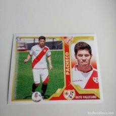 Cromos de Fútbol: PACHECO COLOCA LIGA ESTE 2011 - 12 . RAYO VALLECANO. Lote 149682562