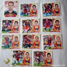 Cromos de Fútbol: LOTE CROMOS FC BARCELONA LIGA ESTE 2011 - 12. Lote 87082088