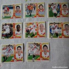 Cromos de Fútbol: LOTE CROMOS RAYO VALLECANO LIGA ESTE 2011 - 12. Lote 87082548
