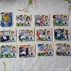 Cromos de Fútbol: LOTE CROMOS REAL SOCIEDAD LIGA ESTE 2011 - 12. Lote 87082656