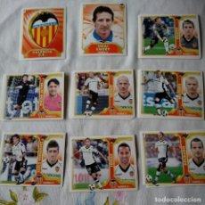 Cromos de Fútbol: LOTE CROMOS VALENCIA LIGA ESTE 2011 - 12. Lote 87082784