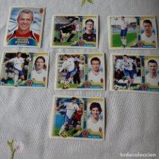 Cromos de Fútbol: LOTE CROMOS ZARAGOZA LIGA ESTE 2011 - 12. Lote 87082840