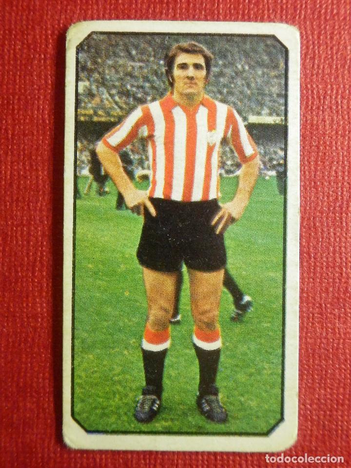 CROMO - FUTBOL - CHURRUCA - ATLETHIC DE BILBAO - EDICIONES ESTE - LIGA 77-78 - 1977-1978 - SIN PEGAR (Coleccionismo Deportivo - Álbumes y Cromos de Deportes - Cromos de Fútbol)