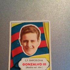 Cromos de Fútbol: EDITORIAL BRUGUERA 1952 1953 - 52 53 - GONZALVO III - FC BARCELONA. Lote 87128460