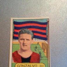 Cromos de Fútbol: EDITORIAL DESCONOCIDA 1949 1950 - 49 50 - GONZALVO III - FC BARCELONA (LEER). Lote 87128984