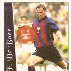Cromos de Fútbol: 2002-2003 - 88 FRANK DE BOER - FC BARCELONA - MUNDICROMO. Lote 87263924