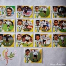 Cromos de Fútbol: LOTE CROMOS RACING DE SANTANDER LIGA ESTE 1994 - 1995 . Lote 87264204