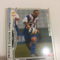 Cromos de Fútbol: CROMO CARD WCCF LIGA 2004-05 PANINI DE JAPÓN DEPORTIVO DE LA CORUÑA MUNITIS TENGO MÁS MIRA MIS LOTES. Lote 170225574