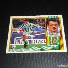Cromos de Fútbol: CROMO ESTE 95 96 - VIDAKOVIC , DEL BETIS - NUNCA PEGADO ( PEDIDO MINIMO 5 EUROS ). Lote 87288924