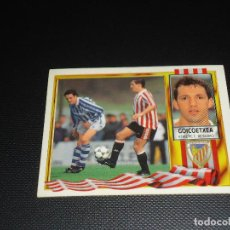 Cromos de Fútbol: CROMO ESTE 95 96 - GOICOETXEA , DEL BILBAO - NUNCA PEGADO ( PEDIDO MINIMO 5 EUROS ). Lote 87290216