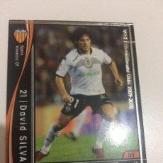 Cromos de Fútbol: CROMO CARD WCCF LIGA 2009-10 PANINI DE JAPÓN VALENCIA CF DAVID SILVA (TENGO MÁS MIRA MIS LOTES). Lote 87275592