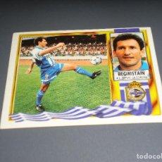 Cromos de Fútbol: CROMO ESTE 95 96 - BEGIRISTAIN , DEL DEPORTIVO - NUNCA PEGADO ( PEDIDO MINIMO 5 EUROS ). Lote 103201607