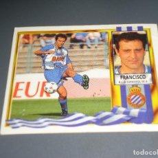 Cromos de Fútbol: CROMO ESTE 95 96 - FRANCISCO, DEL ESPAÑOL - NUNCA PEGADO ( PEDIDO MINIMO 5 EUROS ). Lote 87305772