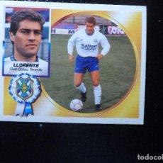 Cromos de Futebol: LLORENTE DEL TENERIFE ALBUM ESTE LIGA 1994 - 1995 ( 94 - 95 ) . Lote 145507510