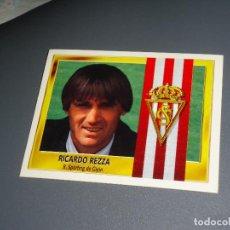 Cromos de Fútbol: CROMO ESTE 95 96 - RICARDO REZZA , DEL SPORTING - NUNCA PEGADO ( PEDIDO MINIMO 5 EUROS ). Lote 87317208