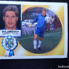 Cromos de Futebol: BULJUBASICH COLOCA DEL TENERIFE ALBUM ESTE LIGA 1994 - 1995 ( 94 - 95 ) . Lote 145507545