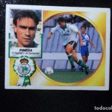 Cromos de Futebol: PINEDA BAJA DEL RACING DE SANTANDER ALBUM ESTE LIGA 1994 - 1995 ( 94 - 95 ). Lote 87365600