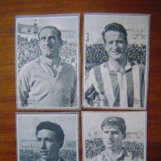 Cromos de Fútbol: SPORTING DE GIJON - 4 CROMOS DIFERENTES - COLECCIÓN DICEN 1958 - 1959 - INCLUYE LISTADO . Lote 87571868