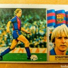 Cromos de Fútbol: SCHUSTER - FC BARCELONA - ESTE - 86 87 - COLOCA - DESPEGADO SIN DESPERFECTO. Lote 87726068