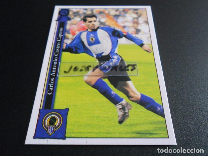 1011 CASTRO HERCULES CROMOS ALBUM MUNDICROMO PLATINUM LIGA FUTBOL 05 06 2005 2006 (Coleccionismo Deportivo - Álbumes y Cromos de Deportes - Cromos de Fútbol)