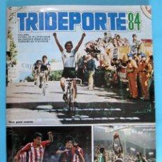Cromos de Fútbol: LOTE DE CROMOS. CROMOS SUELTOS; 0,80 €. TRIDEPORTE 84. CICLISMO, FUTBOL, BALONCESTO. FHER, 1984.. Lote 88313116