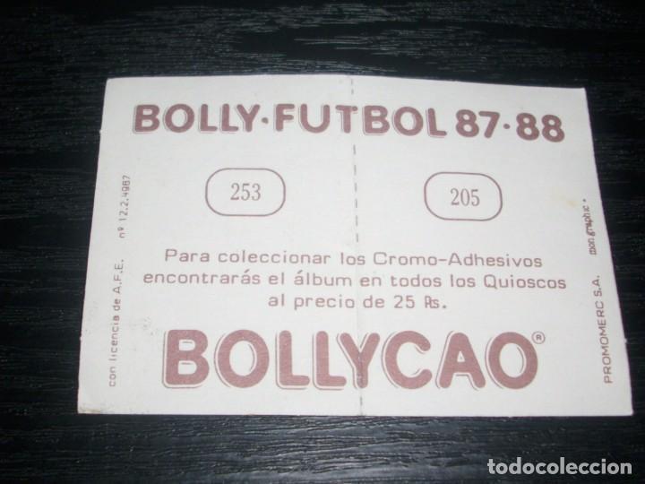 Cromos de Fútbol: -BOLLYCAO 87-88 : 205 MAESTRE ( SABADELL ) + 253 CABRERA ( GIJON ) - Foto 2 - 88680620