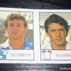 Cromos de Fútbol: -BOLLYCAO 87-88 : 210 VILLARROYA ( SABADELL ) + 224 SALGUERO ( SEVILLA ) . Lote 88682544