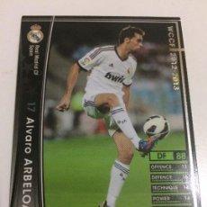 Cromos de Fútbol: CROMO CARD WCCF LIGA 2012-13 PANINI DE JAPÓN REAL MADRID ARBELOA (TENGO MÁS MIRA MIS LOTES). Lote 88736104