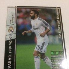 Cromos de Fútbol: CROMO CARD WCCF LIGA 2014-15 PANINI DE JAPÓN REAL MADRID CARVAJAL (TENGO MÁS MIRA MIS LOTES). Lote 88738024