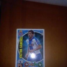 Cromos de Fútbol: VICTOR SANCHEZ ESPANYOL ADRENALYN 2014 15. Lote 88790412