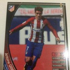 Cromos de Fútbol: CROMO CARD WCCF LIGA 2016-17 PANINI DE JAPÓN AT MADRID GRIEZMANN TENGO MÁS MIRA MIS LOTES. Lote 89227000