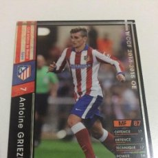 Cromos de Fútbol: CROMO CARD WCCF LIGA 2014-15 PANINI DE JAPÓN AT MADRID GRIEZMANN TENGO MÁS MIRA MIS LOTES. Lote 89316824