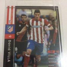Cromos de Fútbol: CROMO CARD WCCF LIGA 2013-14 PANINI DE JAPÓN AT MADRID DAVID VILLA TENGO MÁS MIRA MIS LOTES. Lote 89320832